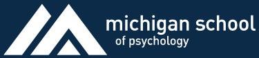 Michigan School of Psychology logo