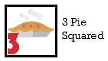 3 pie squared
